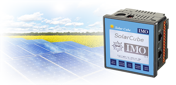 f6841ed2dd2 The IMO Solar Cube has been developed as a ground breaking, easy-to-set-up solar  tracking and management controller with the flexibility to adapt to any ...